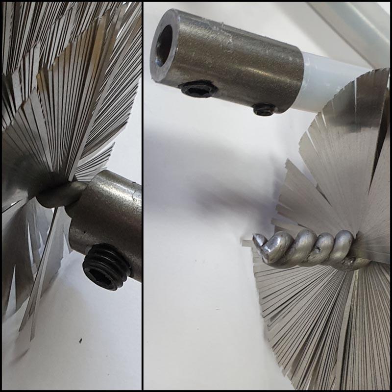 Sotningsverktyg - borrmaskin